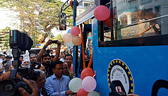 UNHCR gives buses for students in Ukhiya,...
