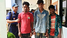 3 arrested for rape in