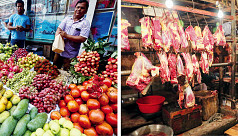 Daily goods prices except fruits, beef stay reasonable