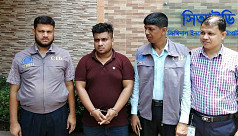 Man held for digital fraud and embezzlement...