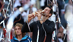 Djokovic claims third Madrid Open title...
