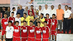 Bandarban win Nat'l Handball