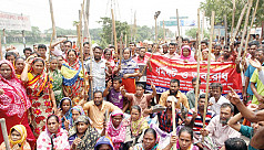Jute mill workers continue countrywide protest