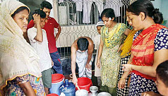 No water in Rampura for 20 days