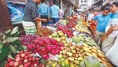 Costly fruits slide out of consumers'...