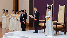 Emperor Naruhito ascends throne in Japan...
