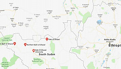 Bush fire guts four villages in South Sudan, kills 33