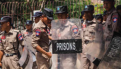 Prison riot in northern Myanmar leaves...