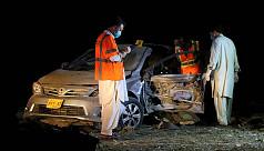 Blast in Pakistani city Quetta kills...