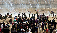 Nearly 50 Palestinians wounded on Gaza-Israel border