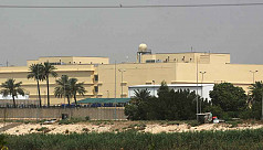 As US-Iran tension simmers, rocket fired near Iraq's US Embassy