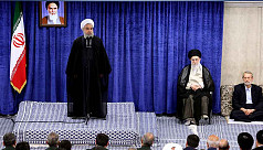 Rouhani rejects talks, says Iran faces...