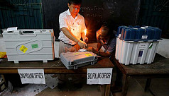 Masked attackers snatch voting machines...