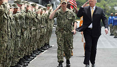 Trump expects Japan's military to reinforce...