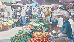 Slight fall in daily goods prices