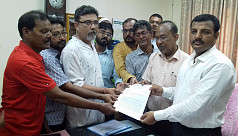 Locals submit memorandum to protest...