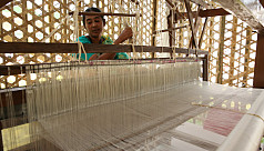 Coronavirus deals a major blow to Rajshahi's silk industry