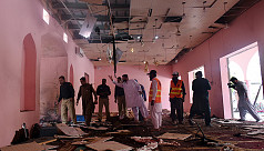 Bomb at mosque in Pakistan kills two,...