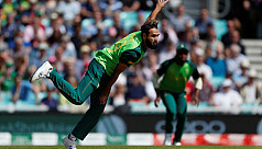 Tahir first spinner in WC history to...