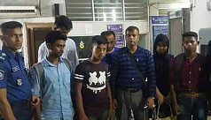 Rohingyas among 7 detained in...