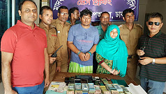 Narco couple arrested with Tk14 lakh,...