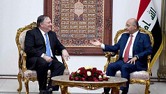 Pompeo briefs Iraqi leaders on US security...