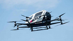 Air taxi start-up Lilium stages test...
