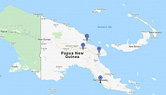 100 displaced on remote island by Papua New Guinea quake