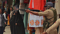 9 killed in gun battles in Indian-controlled...