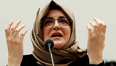 Khashoggi  fiancee: The world still...