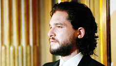 Stressed Kit Harington getting treatment...