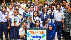 US ambassador spends day with JAAGO students