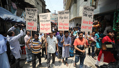 Dhaka residents demand safe water, resignation...