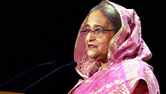 PM Hasina arrives in Jeddah to attend...