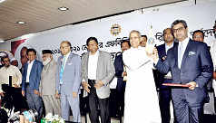 Sheikh Fazle Fahim-led panel takes charge...
