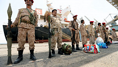 Saudi-led coalition says intercepts missiles, drones from Yemen's Houthis