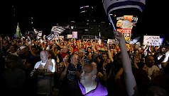 Israelis protest moves to grant Netanyahu...