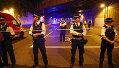 Gun fired outside London mosque during...