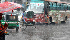 Heavy rainfall likely in Dhaka...
