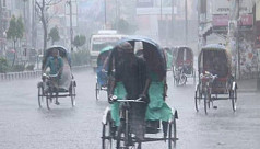 Rain with gusty wind likely across Bangladesh