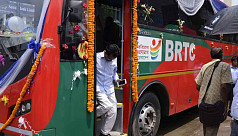 BRTC's AC bus service launched on Dhaka-Narayanganj...