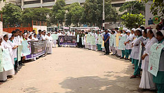 BSMMU nurses protest, demand justice...
