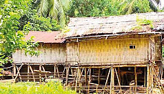 Cultural heritage: Machang houses being...