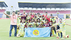 Abahani make history in AFC Cup