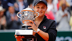 Barty party underway as Ashleigh triumphs...