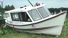 Chandpur river ambulance lies idle