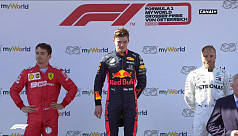 Verstappen ends Mercedes run but stewards...