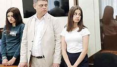 Protests in Russia as sisters face jail...