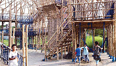A unique play space for underprivileged children