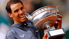Nadal racks up 12th French crown